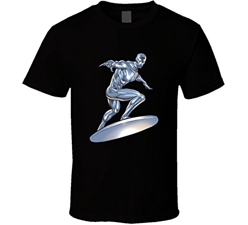 Northamericantshirts Silver Surfer Fan T Shirt XL Black -