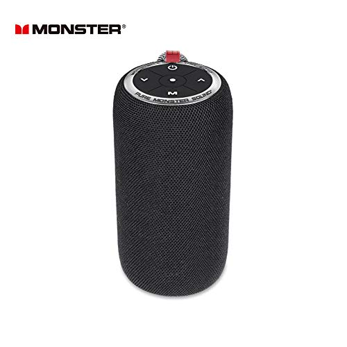 Monster S310 Portable Bluetooth Speakers with 16W Amplifier & TWS Pairing Deliver Rich Bass & Dynamic Stereo Sound