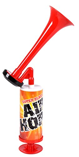 One Dr. J's NEW YEARS Mini Super Blast Air Horn - make ENDLESS loud (Super Sonic Halloween Costume)