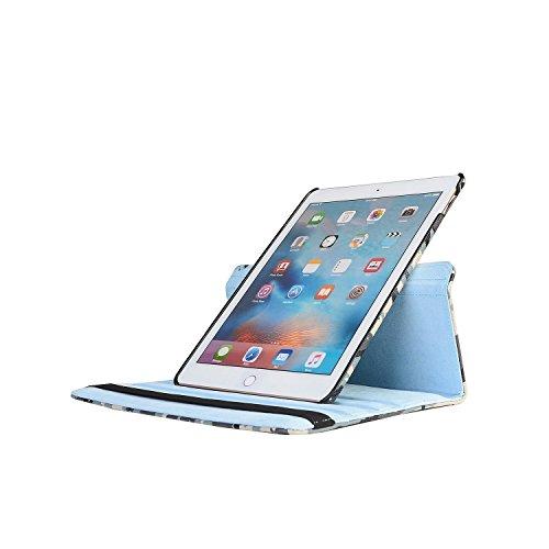 De ® ipad Negocios La 360 Grados elecfan Air Smartcase a01 Protector Ipad Cuero Sueño Para 2 Estuche Cubierta Negro Del Pantalla Caso Camuflaje 2 Soporte qfWYRt8