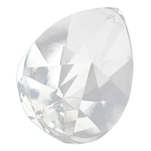 Dotop Magnificent Crystal 76mm Clear Crystal Teardrop Prism Clear (Prisms Teardrop Crystal)