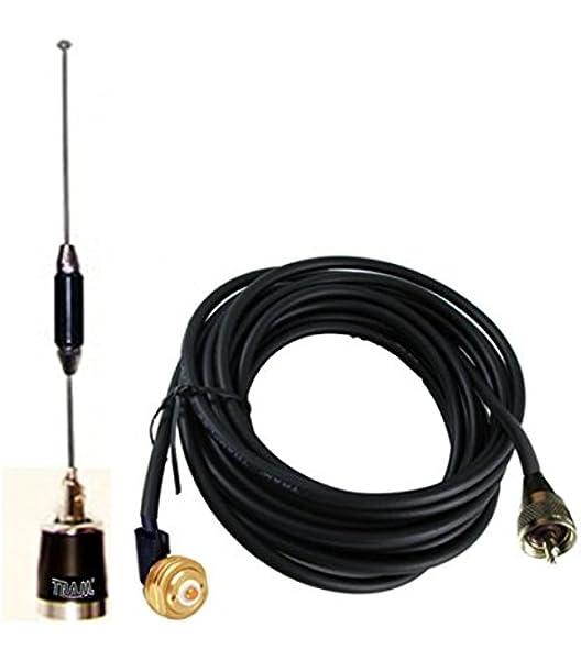 NMO Mount Magnetic Base PL259 Plug for Kenwood TK-890 TK-890H Mobile Radio