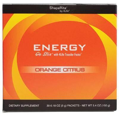 Energy go Stix Orange Citrus – 30 packets by 4Life