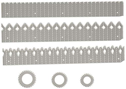 Sizzix 662691 Thinlits Die, Rosette Set by Tim Holtz (6 Pack), ()