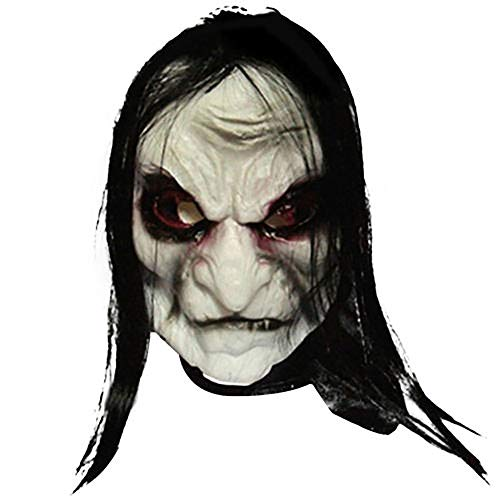 Richyu Halloween Mask Scary Mask Bloody Soft Latex Party Costume Cosplay]()