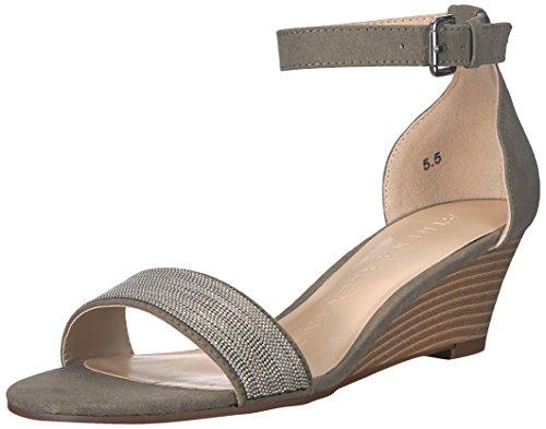 Athena Women's Wedge Enfield Sandal Suede Olive Alexander OrBpnO
