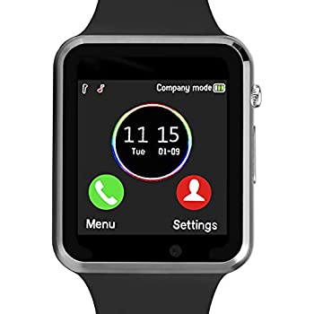 Amazon.com: Smartwatch, Smart Watch with SIM Card Slot Text ...
