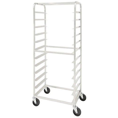 HUBERT Pan Rack for 12 Pans Side Load Bun Aluminum - 28