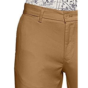 Indian Terrain Men's Straight Fit Casual Trousers