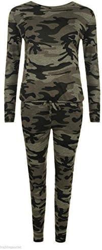 Unogal Clothing Mujer Camuflaje Ejército Ropa De Andar Por Casa ...