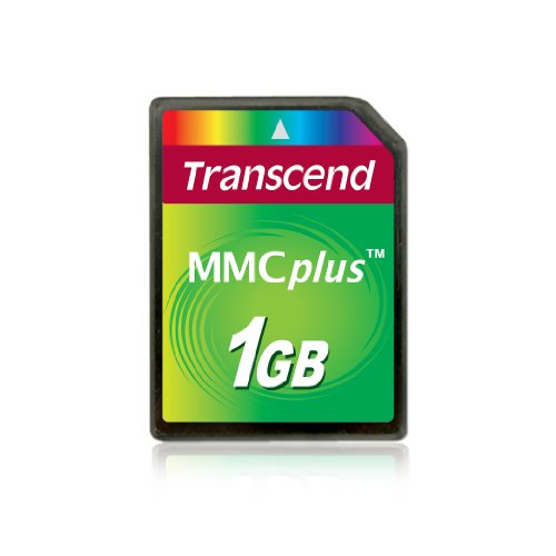 Transcend TS1GMMC4 1GB High Speed Multimedia Card by Transcend
