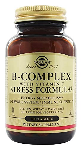 Solgar - B-Complex with Vitamin C, 100 Stress Formula Tablets
