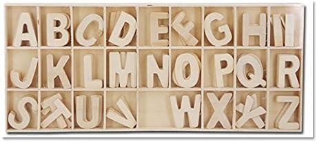 Starplast 132199A - Caja con Juego DE Letras DE Madera Color ...