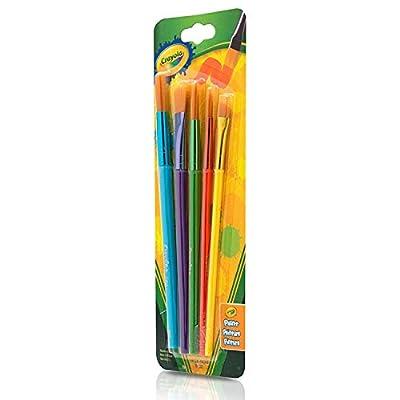 Crayola Arts & Craft Brushes, Assorted 1 ea: Toys & Games