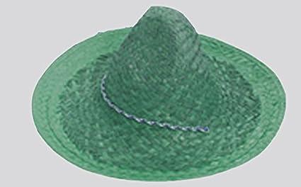 a26be5debcb59 P  Tit Payaso 50800 Sombrero Paja Sombrero Mexicano Adhesiva – Color  Aleatorio