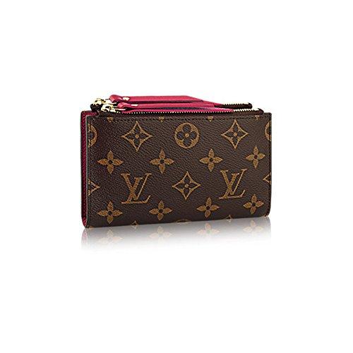 Authentic-Louis-Vuitton-Monogram-Canvas-Adele-Compact-Wallet-Article-M61271