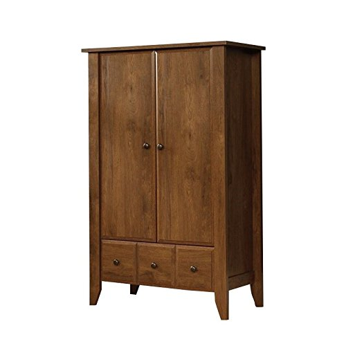 042666104173 - Sauder Shoal Creek Armoire, Oak carousel main 3
