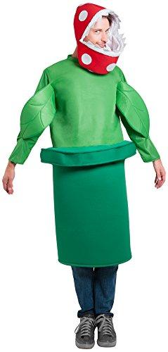 FunFill Adult Piranha Plant Costume (Size: