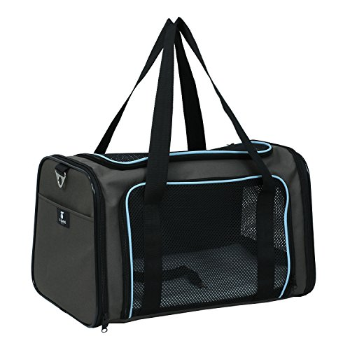 OxGord Airline Approved Pet Carriers, Review of OxGord Airline Approved Pet Carriers w/ Fleece Bed For Dog & Cat – Large, Soft Sided Kennel – 2016 Newly Designed Model, Onyx Black