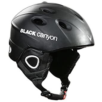 Black Canyon Zermatt - Casco de esquí, color negro mate, talla: S (