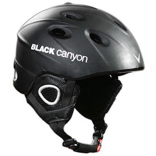 Black Canyon Skihelm Zermatt M, matt black