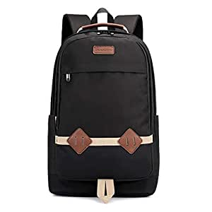Bageek Unisex Travel Backpack Student Backpack Decor Laptop Backpack Large Capacity Ergonomic