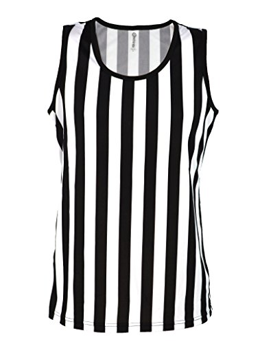 [Referee Tank Top for Women | Referee Uniform Top for Waitresses, Costumes, More!] (Woman Referee Costume)