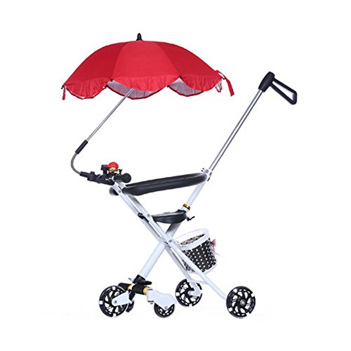 White Parasol For Pram - 8