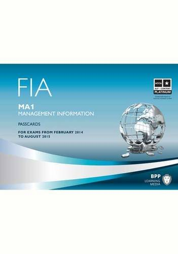 Download FIA Management Information MA1: Passcards PDF