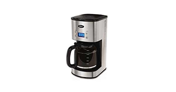 Amazon.com: Oster, cafetera programable para 12 tazas BVST ...