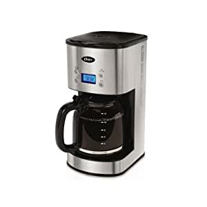 Oster 12-cup cafetera programable bvst-jbxss41 - acero ...