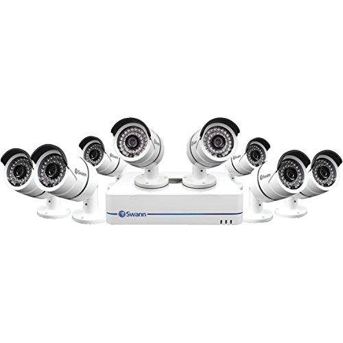 Swann 8-Channel, 8-Camera Outdoor Wired 720p 2TB DVR Surveillance System SWNVK-870858