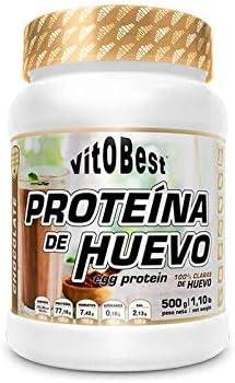 VIT.O.BEST PROTEINA DE Huevo Chocolate 500 gr, Negro, Mediano ...