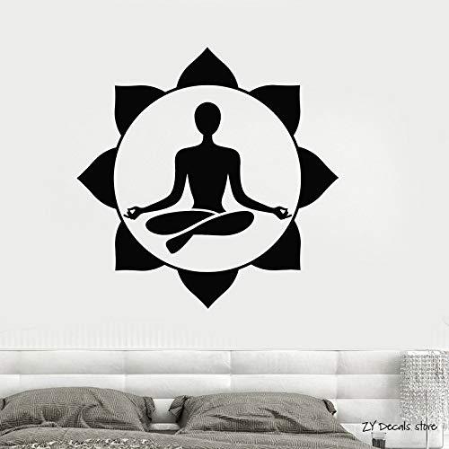 supmsds Centro de Yoga Etiqueta de la Pared Sala de ...