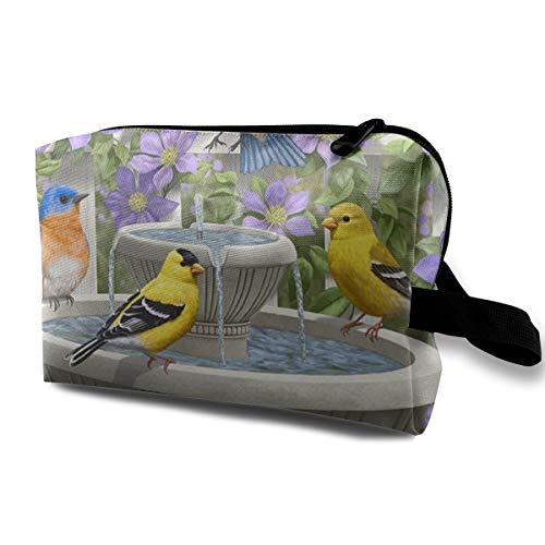 Bafrsc Birdy Dippin Spring Summer Bird Bath Flower Customized Suitable for Families, Travel 4.9