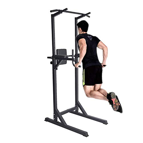 Livebest Heavy Duty Fitness Power Tower Multi-Function Strength Training Workout Dip Station Work Out Equipment for Home Gym by Livebest (Image #5)