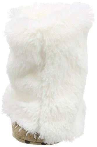 Hatley Lbh - Bear Paws - Zapatillas de estar por casa de sintético para niño blanco - blanco