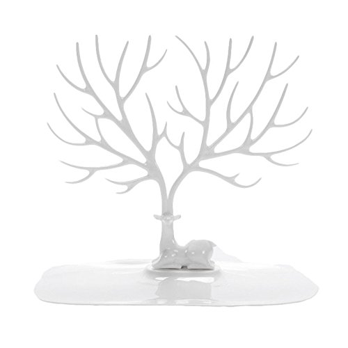 YFLY Antique Birds Tree Stand Jewelry Display Necklace Earring Bracelet Holder Organizer Rack Tower (Tree Antique)