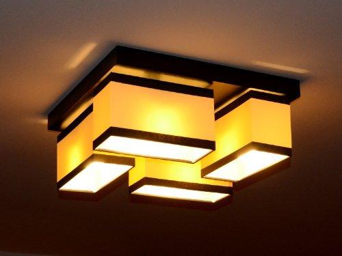 Deckenlampe deckenleuchte lampe leuchte 4 flammig top design ibiza