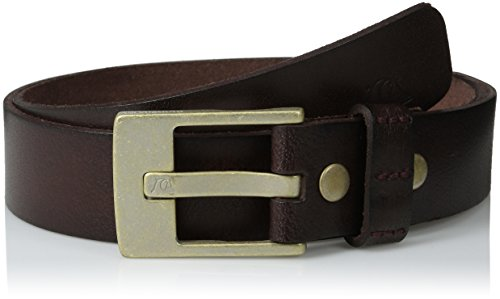 Quiksilver Embossed Belt (Quiksilver Men's Section Belt, Chocolate,)