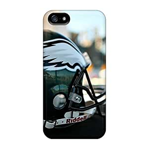 New Diy Design Philadelphia Eagles Helmet For Iphone 5/5s Cases Comfortable For Lovers And Friends For Christmas Gifts