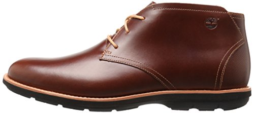 Timberland Men's EK Kempton Chukka, Brown Full Grain, 11 M