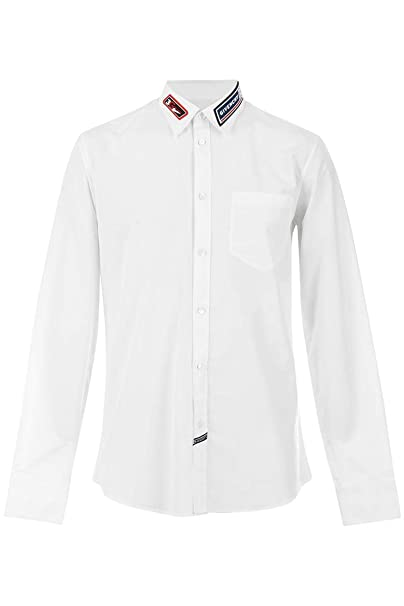 Givenchy Camisa Resin Patch Cuello (40)