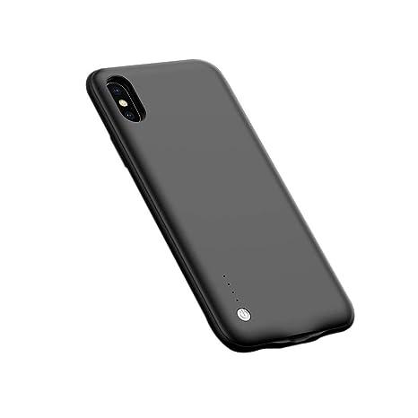 Jweal - Funda para iPhone x (batería Ultrafina, 6000 mAh ...