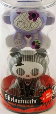 Halloween Skelanimals Marcy the Monkey and ChungKee the Panda Target Exclusive (Monkey Marcy Skelanimals)