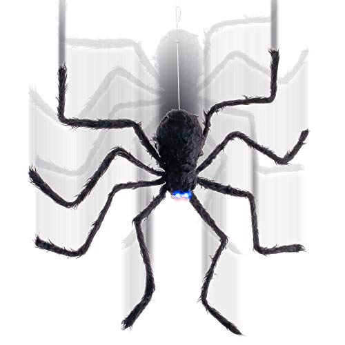 Jumping Spider Halloween Decorations (Halloween Haunters Hanging 32