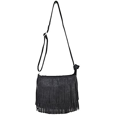 Western Cowgirl Style Fringe Cross Body Handbags Concealed Carry Purse Country Women Single Shoulder Bags
