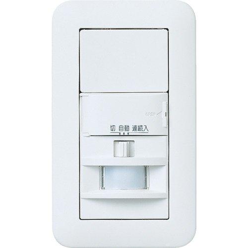 パナソニック(Panasonic) ワイド21壁取付熱線センサ付自動スイッチ WTP1811WP 【純正パッケージ品】