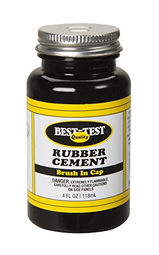 Best-Test Rubber Cement 4OZ - Rubber Best Cement Test