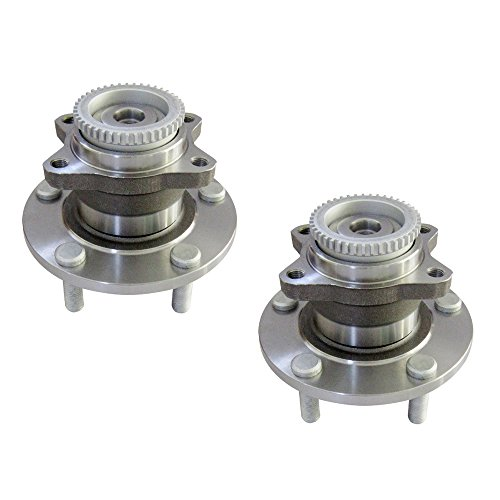 (DRIVESTAR 512274x2 Pair:2 New Rear Left & Right Wheel Hub & Bearings for Mitsubishi Eclipse)